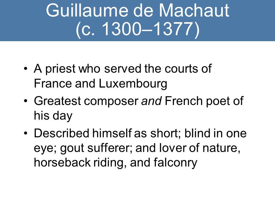 Guillaume de Machaut (c.