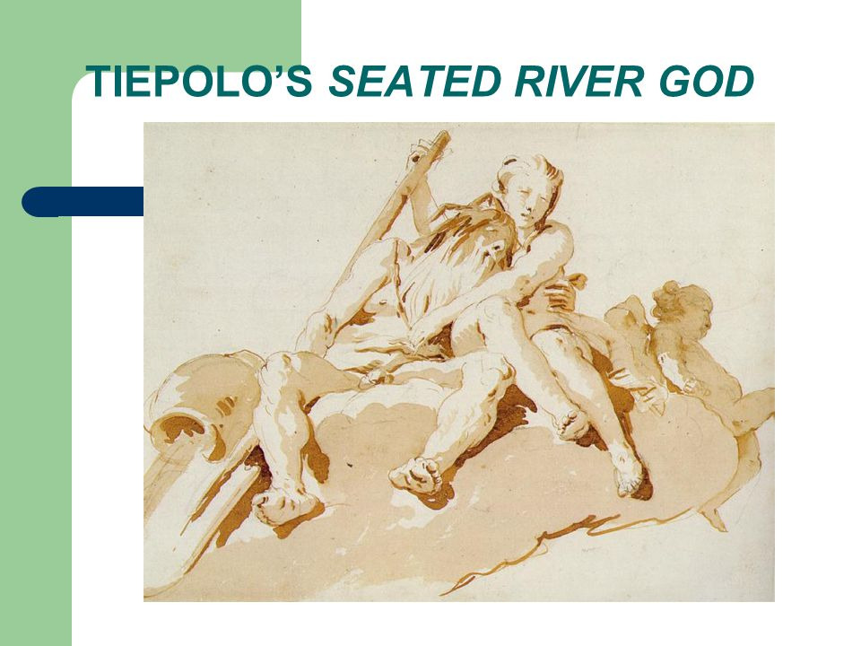 TIEPOLO'S SEATED RIVER GOD