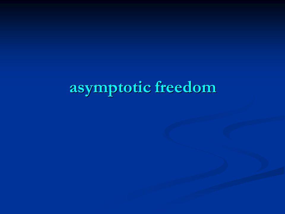 asymptotic freedom