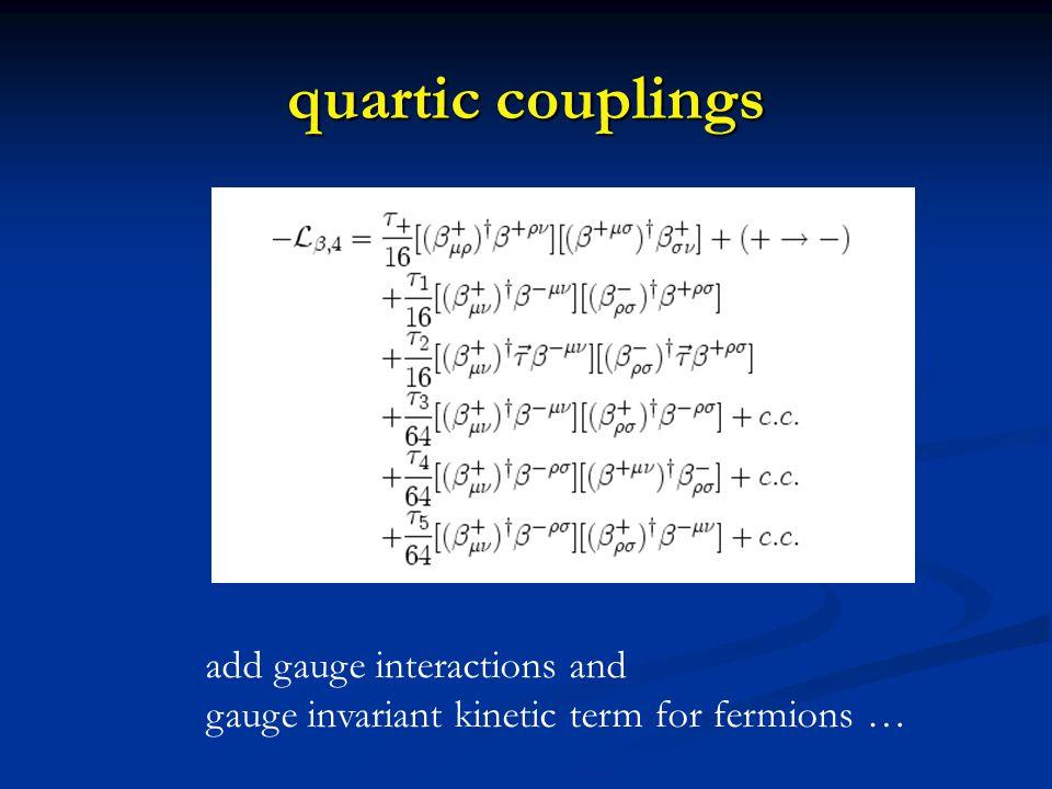 classical dilatation symmetry action has no parameter with dimension mass action has no parameter with dimension mass all couplings are dimensionless all couplings are dimensionless