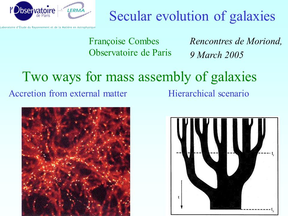 12 Secular evolution at z=0