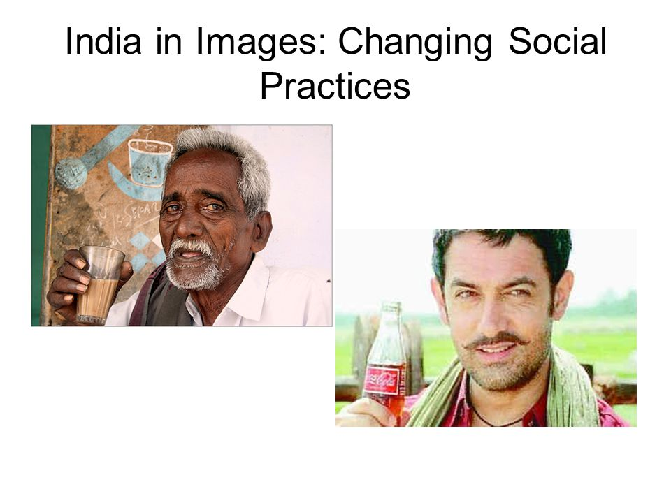 India in Images: Changing Social Practices