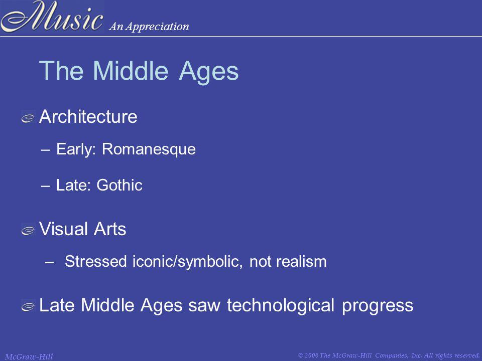 An Appreciation © 2006 The McGraw-Hill Companies, Inc.