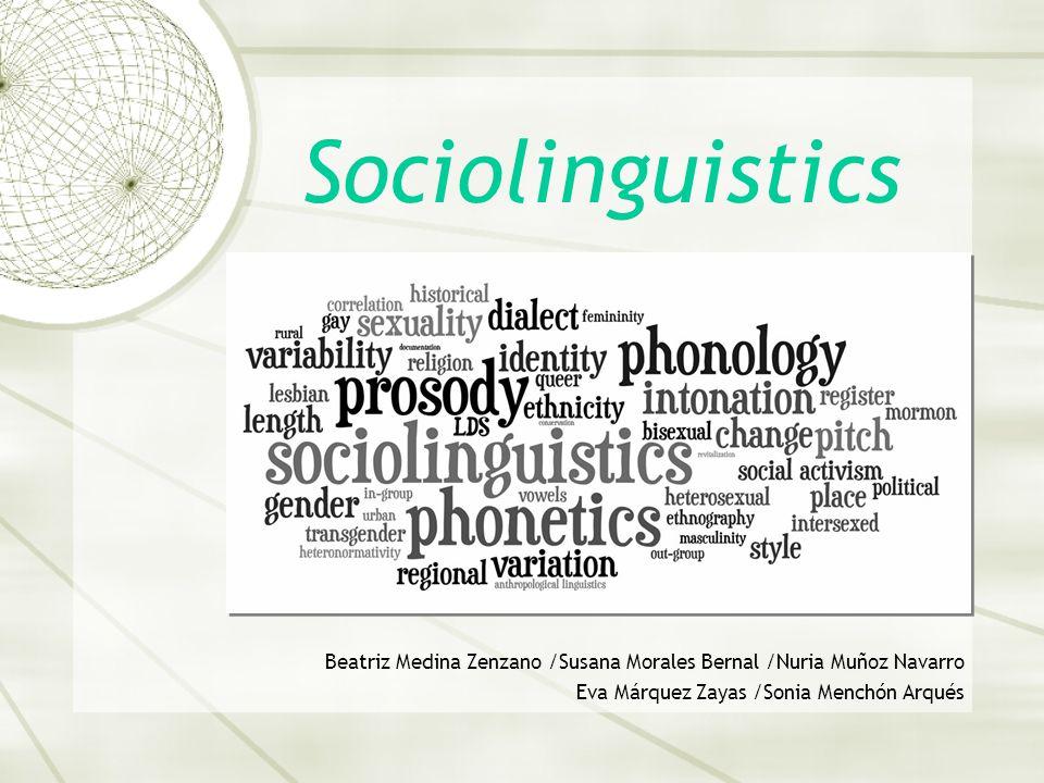 Contents 1.Definition of Sociolinguistics 2. Origins and main figures 3.