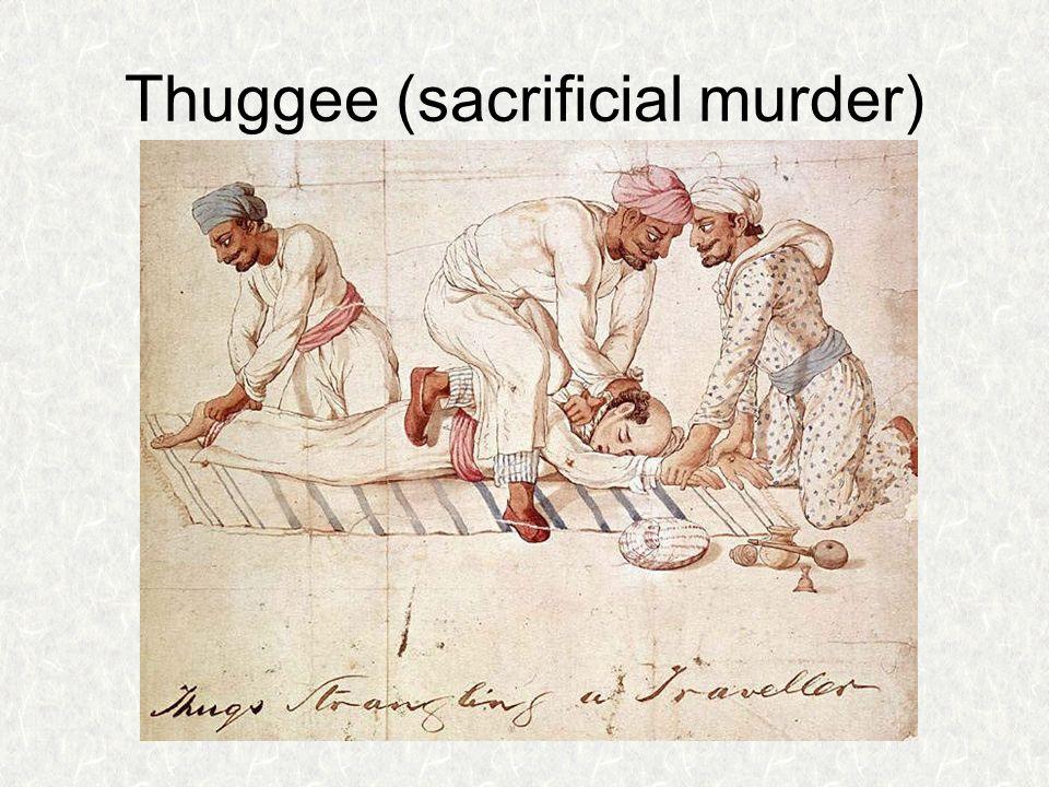 Thuggee (sacrificial murder)