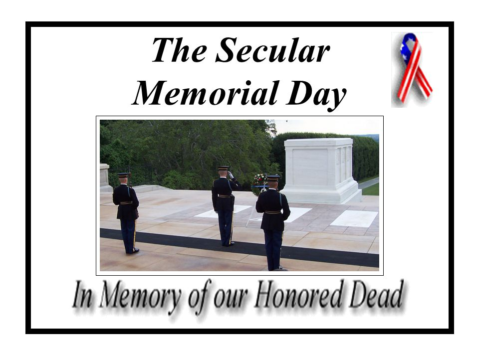The Secular Memorial Day