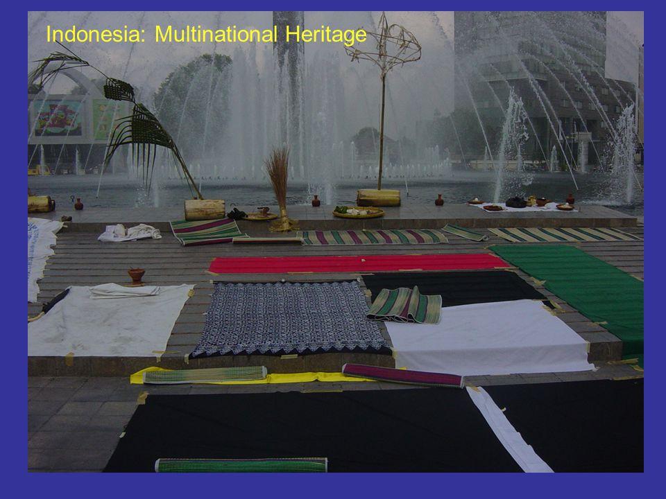 Indonesia: Multinational Heritage