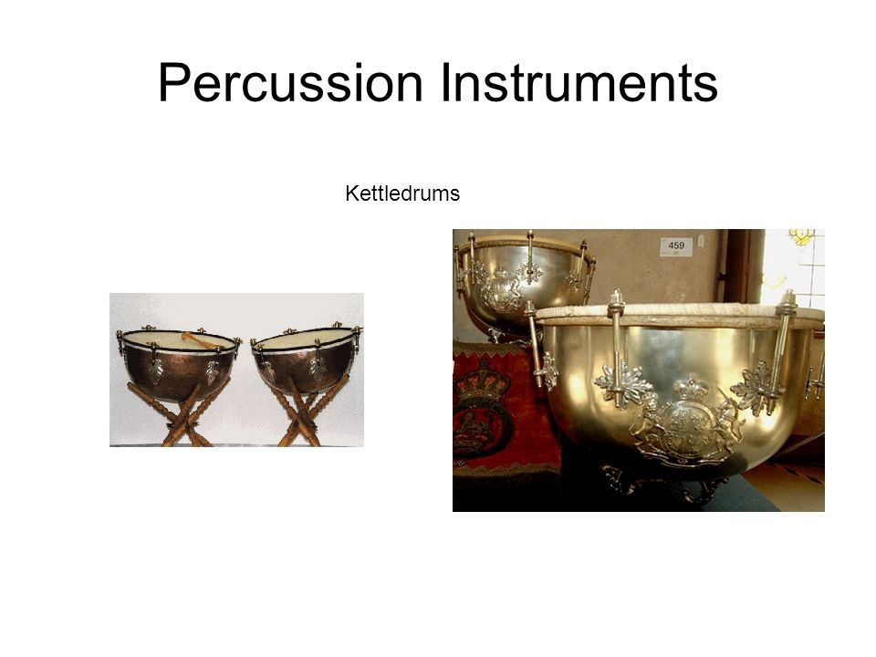 Percussion Instruments Kettledrums