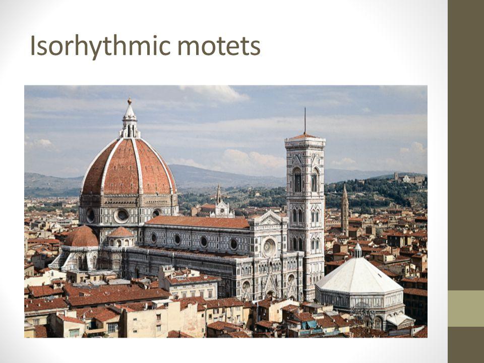Isorhythmic motets