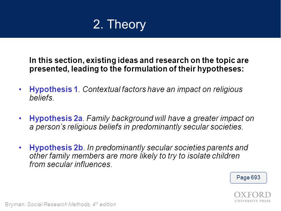 Bryman: Social Research Methods, 4 th edition 2.