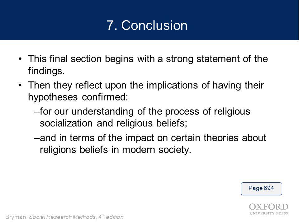 Bryman: Social Research Methods, 4 th edition 7.