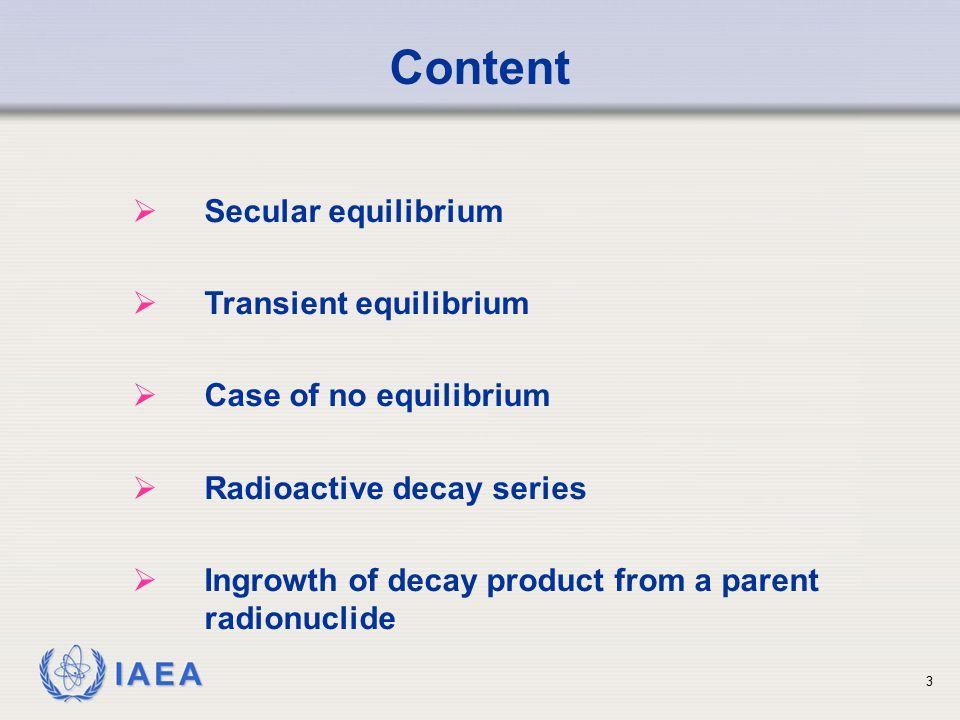 IAEA (b) The activity of 99 Mo is given by A(t) = A o e - t = 100 mCi e (-0.011/hr * 21.9 hr) = 100 * (0.79) = 79 mCi Solution to Sample Problem