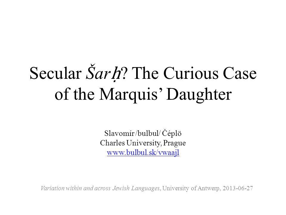 Secular Šar ḥ .