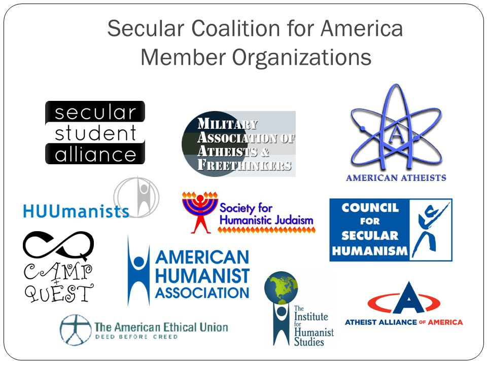 Secular Coalition for America Member Organizations