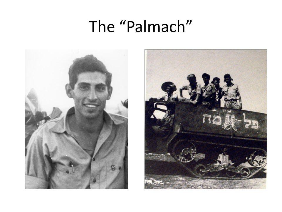 "The ""Palmach"""