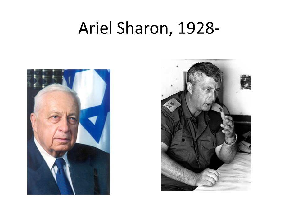 Ariel Sharon, 1928-