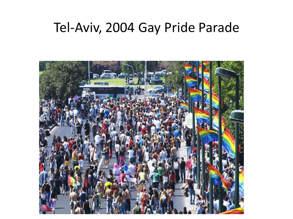 Tel-Aviv, 2004 Gay Pride Parade