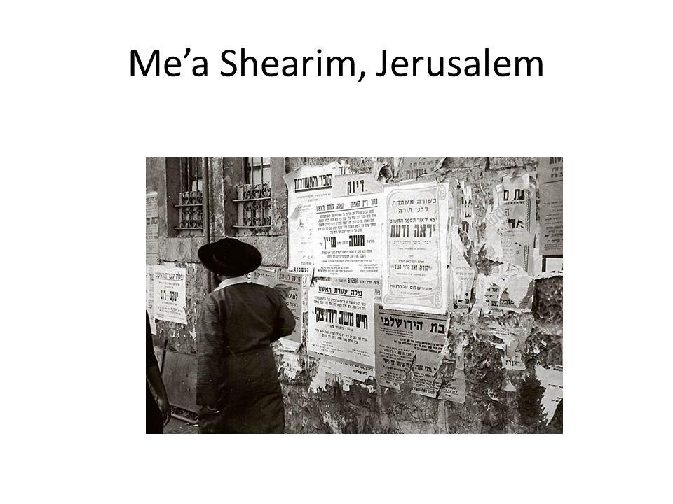 Me'a Shearim, Jerusalem