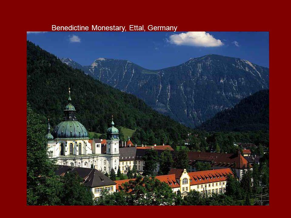 Benedictine Monestary, Ettal, Germany