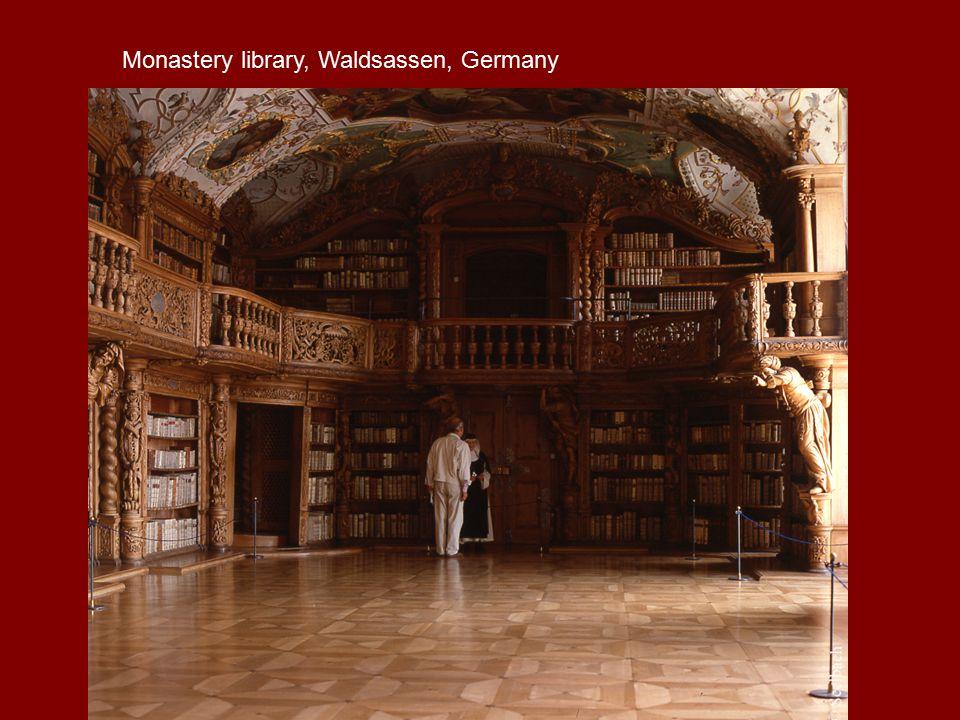 Monastery library, Waldsassen, Germany