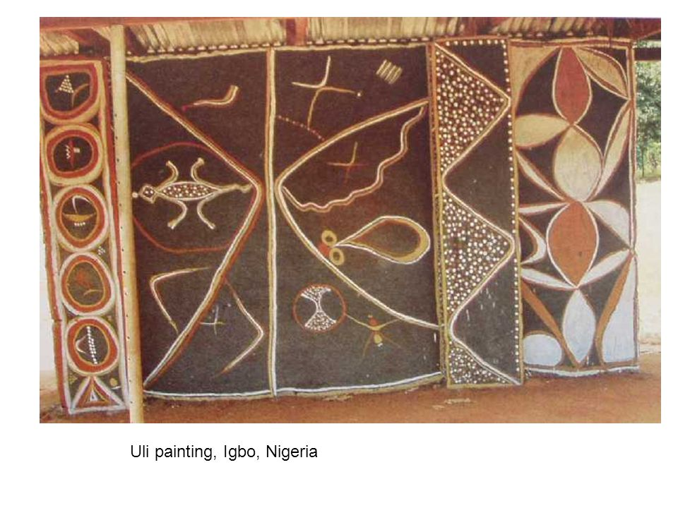 Uli painting, Igbo, Nigeria