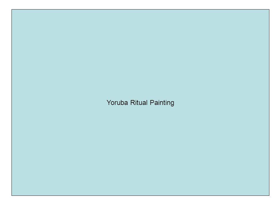 Yoruba Ritual Painting
