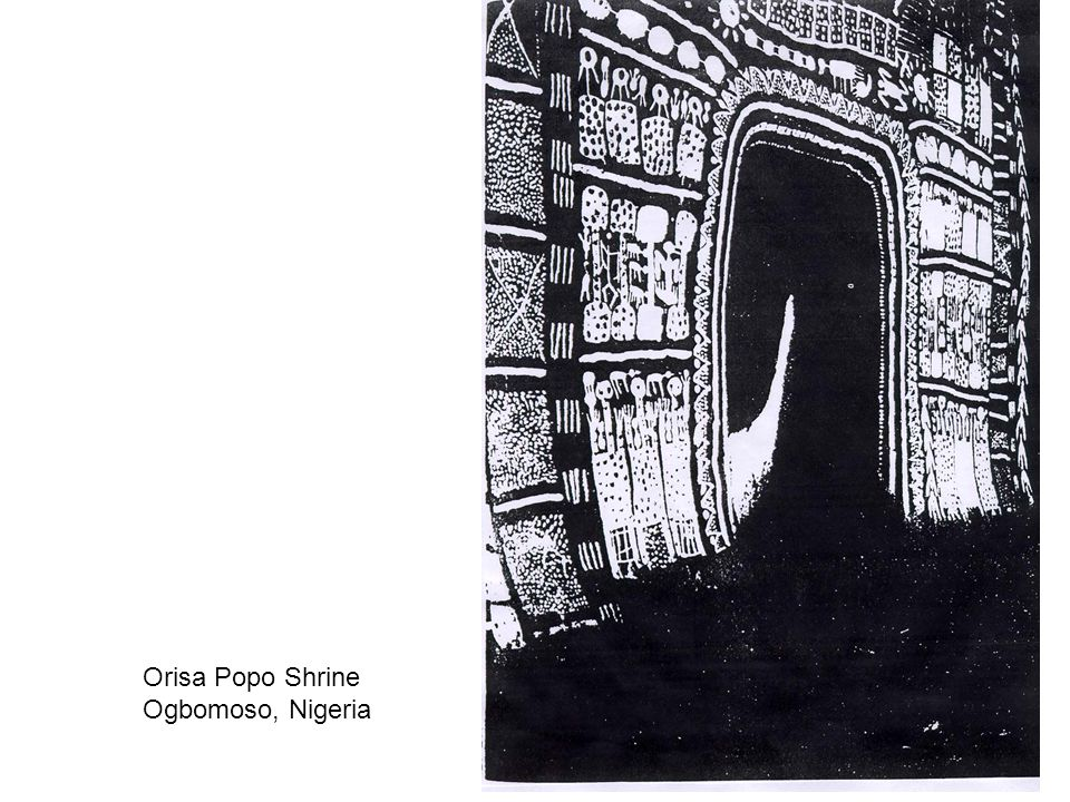 Orisa Popo Shrine Ogbomoso, Nigeria