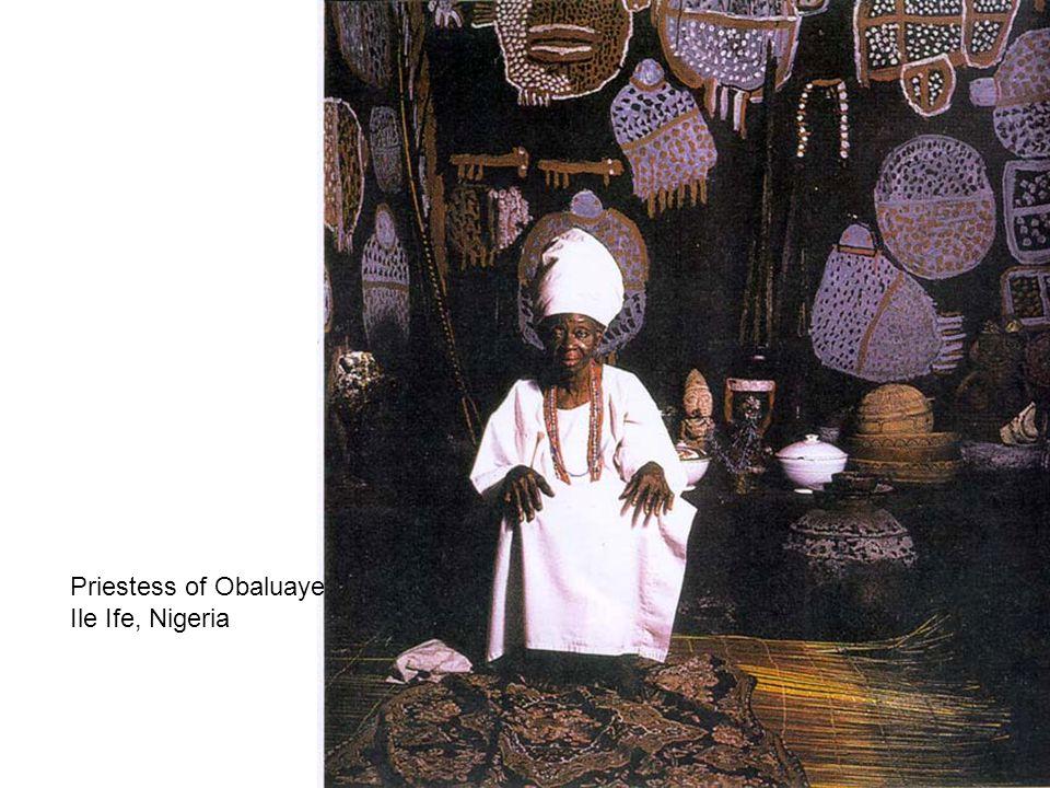 Priestess of Obaluaye Ile Ife, Nigeria