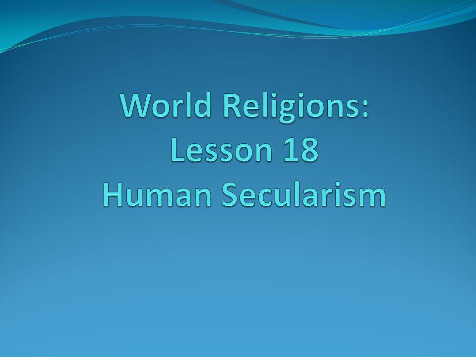 Beliefs (From Humanist Manifest 1) 1.