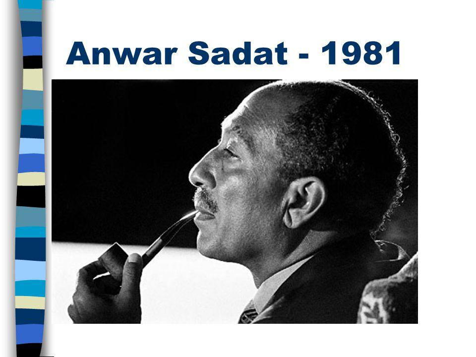 Anwar Sadat - 1981