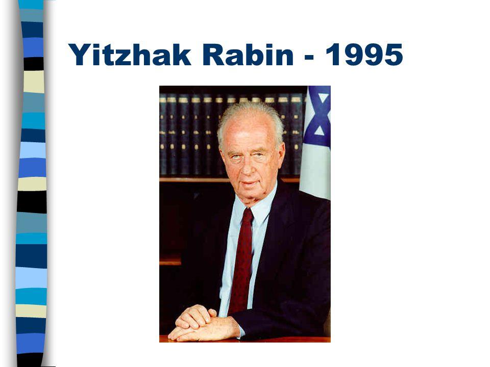 Yitzhak Rabin - 1995