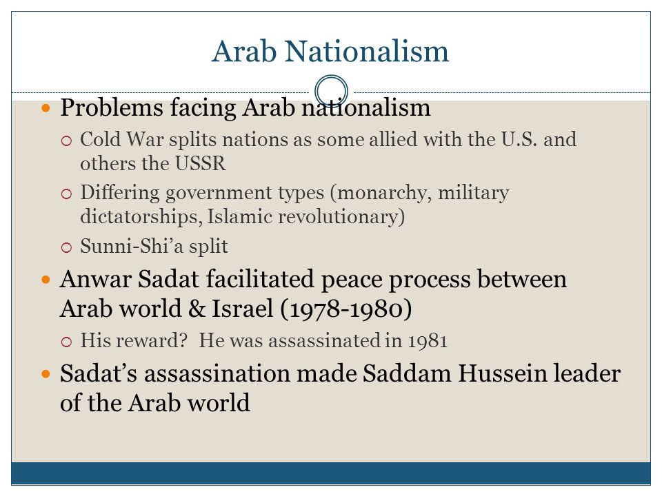 Palestinian Liberation Organization Created in 1964 by Yasser Arafat to promote Palestinian rights Often resorted to terrorism against Israel Negotiated limited Palestinian self-rule in 1993 and 1995  PLO was replaced by Hamas as the leading anti-Israeli organization in Palestine Yasser Arafat, founder of the PLO, and Yitzak Rabin, Israel's prime minister, shake hands after signing the Olso Accords in 1994