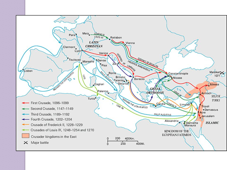 Economic Effects of the Crusades: Increased demand for Middle Eastern products Stimulated production of good to trade in Middle Eastern markets Encouraged the use of credit and banking