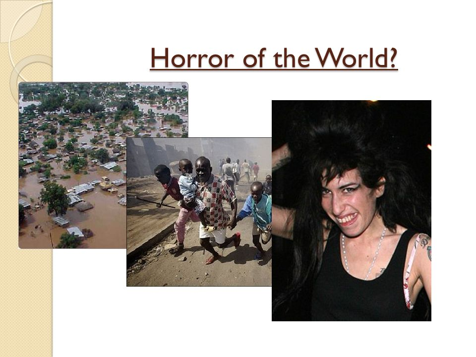 Horror of the World