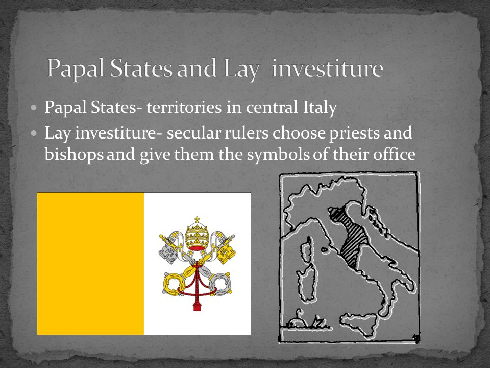 Opposed lay investiture Conflict with Henry IV of Germany 1075 Pope bans lay investiture