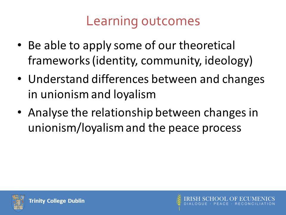 Trinity College Dublin Key Texts Jon Tonge, 2002.