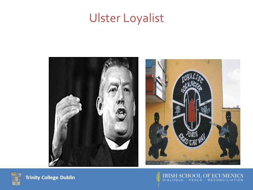Trinity College Dublin Finally: sharing power with Sinn Fein
