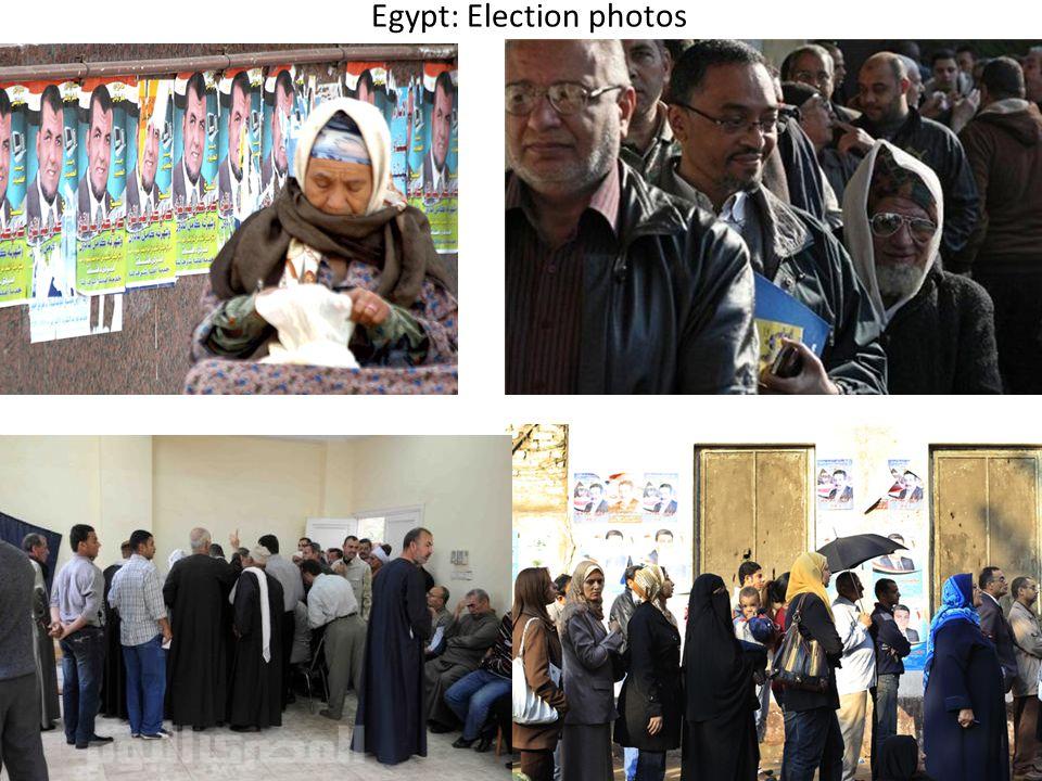 Egypt: Election photos