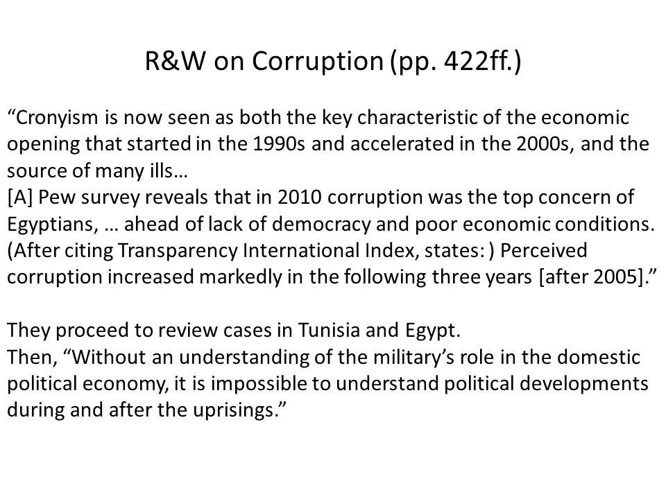 R&W on Corruption (pp.