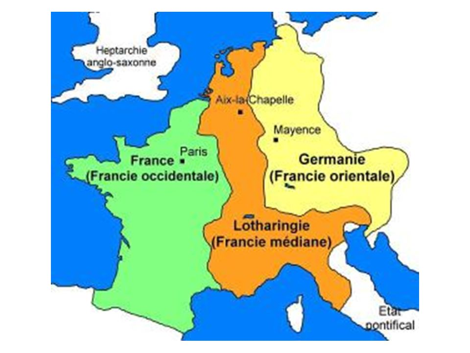 The Middle Ages: political, religious, and economic developments Timeline: 843: Treaty of Verdun: the sons of Louis the Pious (Charlemagne's son): Charles the Bald, Lotharius, and Louis the German Late 9 th – 10 th centuries: Vikings!