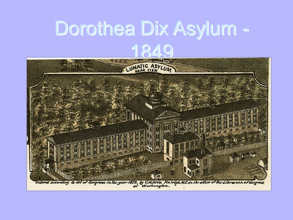 Penitentiary Reform Dorothea Dix (1802-1887) 1821  first penitentiary founded in Auburn, NY R1-5/7