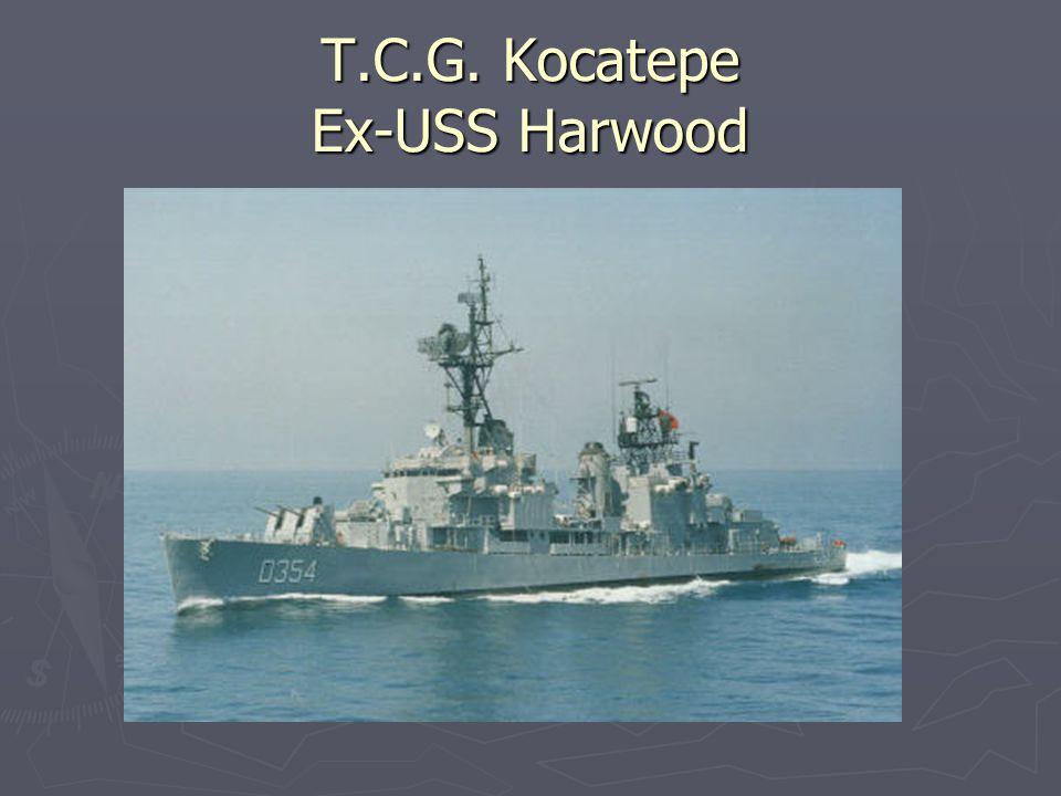 T.C.G. Kocatepe Ex-USS Harwood