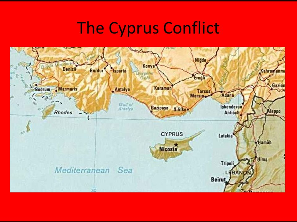 Timeline 1878 Ottomans cede Cyprus to Britain for protection against Russia Enosis 1931 Uprising/Constitution Revoked 1946 Consultative Assembly/rtn of 31 exiles 1950 Michael Mouskos becomes Archbishop Makarios III