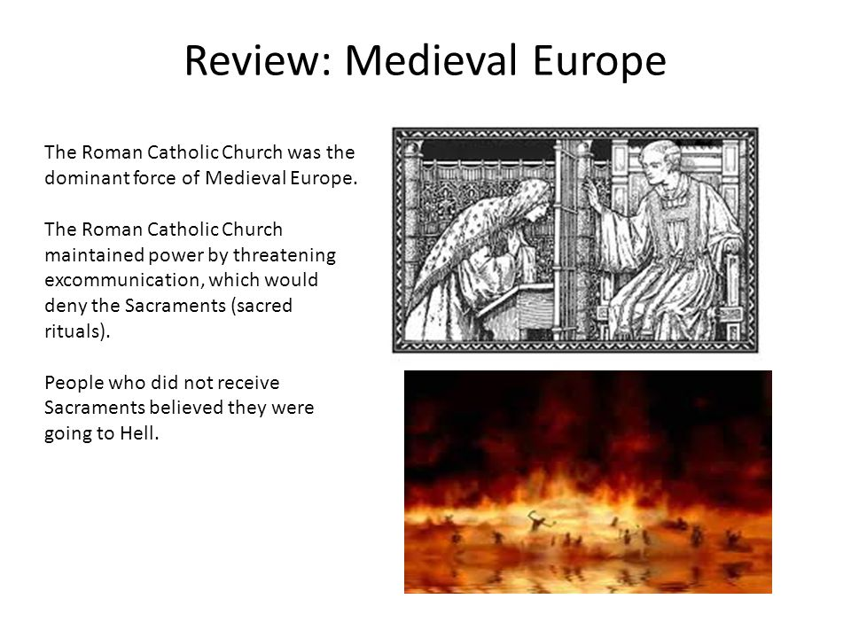 Review: Medieval Europe In Eastern Europe, the former Eastern Roman Empire became the Byzantine Empire.