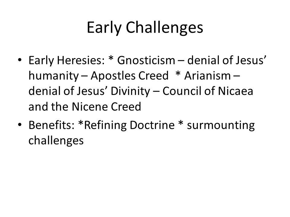 Changes from 100CE to 400CE Constantine's legalizing of Christianity (positive)*brought an end to persecutions * allowed Christians to enter the main stream of society * exempted Christian clergy from taxes * allowed for many Churches to be built (negative) *the government interfered in the administration of the Church * Christians were called upon to serve in the military after years of a pacifist position * Christianity was viewed as aligned with Roman Rule * wealth, property and power accrued