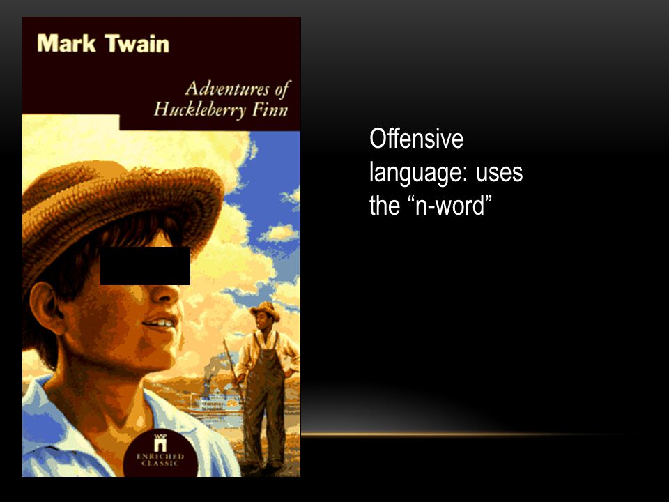 Offensive language: uses the n-word