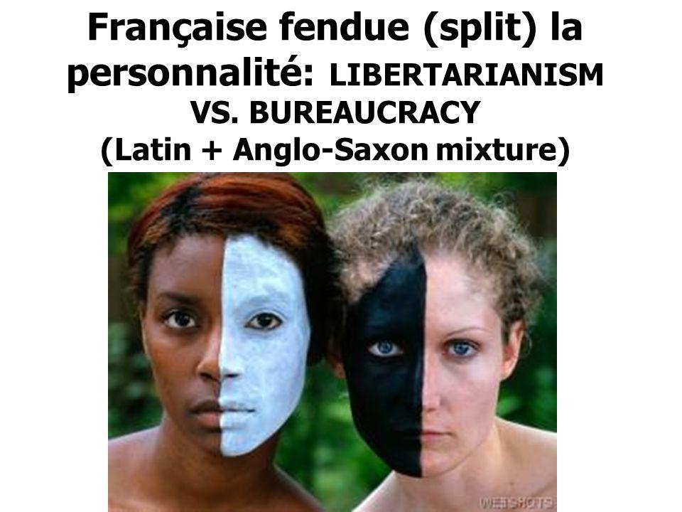 Française fendue (split) la personnalité: LIBERTARIANISM VS.