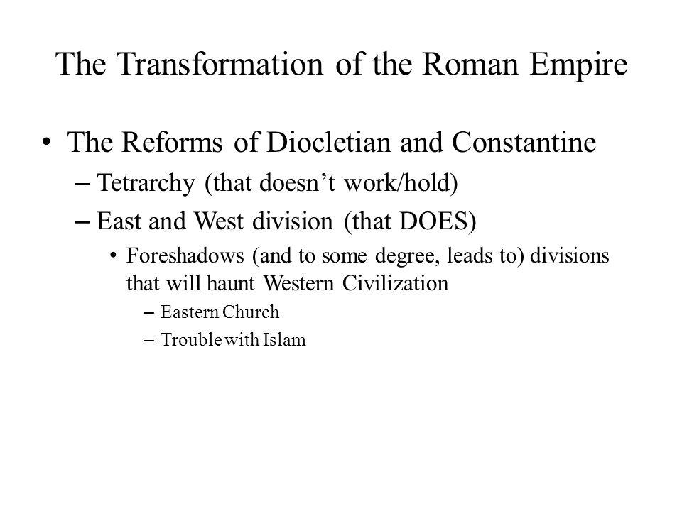 The Roman Empire in the Fourth Century