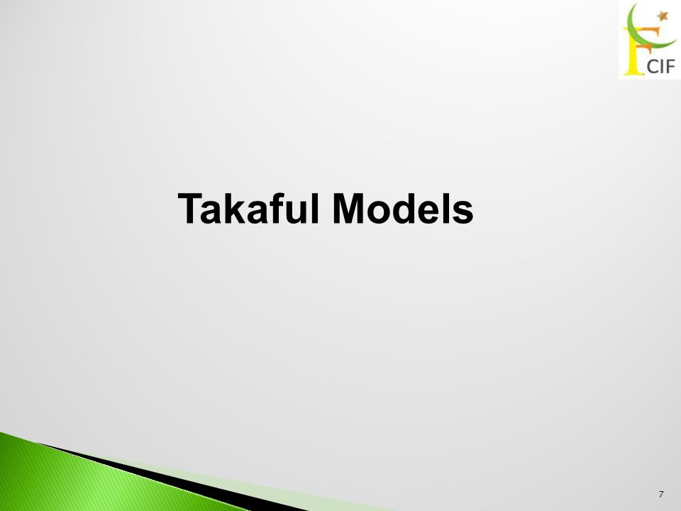  The surplus is shared between the participants with a takaful operator.