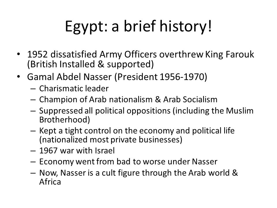 Discussion Should the US support lifting of restrictions on opposition groups in Egypt.